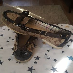 Coach Carisa Loafers size 9